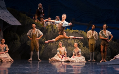 Semyon Velichko in Giselle. Photo Altin Kaftira