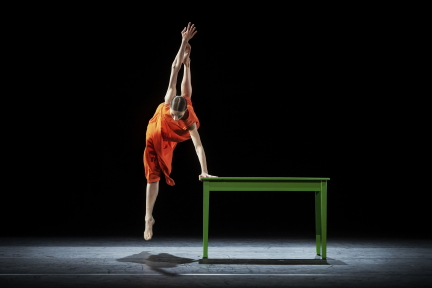 On the essence of being human: Mats Ek's 'woman with water' plus Kylián and Naharin from the Royal Swedish Ballet