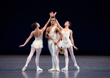 Taylor Stanley NYCB in George Balanchine's ApolloPhoto Erin Baiano