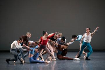 New York City Ballet in Justin Peck's RotundaPhoto Erin Baiano