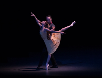Lauren Lovette and Tyler Angle in Christopher Wheeldon's Carousel (A Dance)Photo Rosalie O'Connor