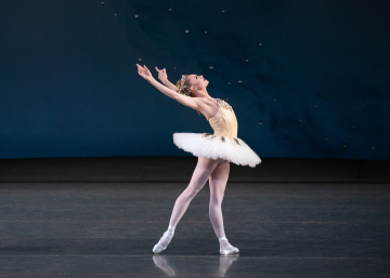 Sara Mearns in George Balanchine's DiamondsPhoto Erin Baiano