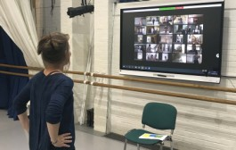 The Royal Ballet School and five other international schools work with Didy Veldman to explore theme of physical restriction