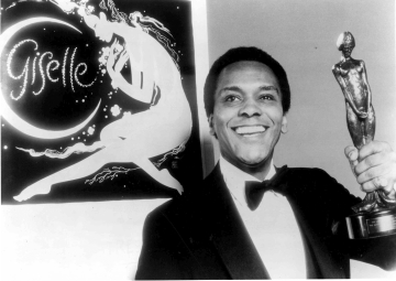 Arthur Mitchell, who received the Sir Laurence Olivier Award for Creole Giselle in 1984Photo Dance Theatre of Harlem Archives