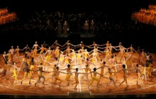 Spectacle on a grand scale: Béjart Ballet Lausanne in Maurice Béjart's The Ninth Symphony