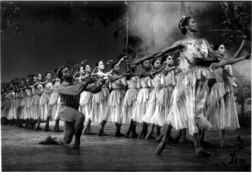 Lowell Smith as Hilarion Guidry and Lorraine Graves as Myrta in Creole GisellePhoto courtesy Dance Theatre of Harlem Archives