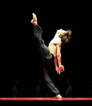 Friedemann Vogel in BoleroPhoto Stuttgart Ballet