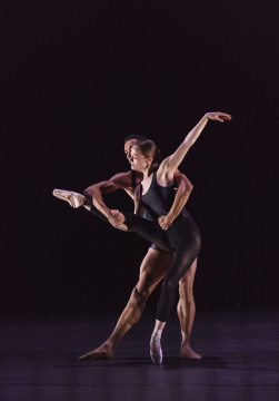 Brandon Lawrence and Delia Mathews in Stems by Kit HolderPhoto Bill Cooper