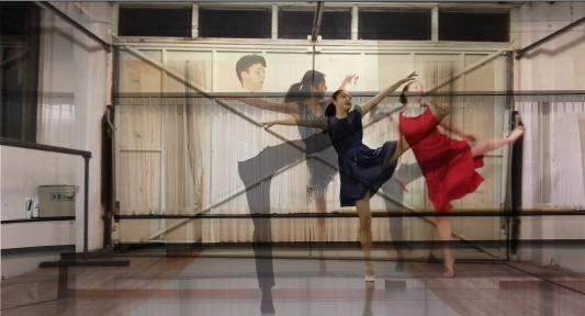 English National Ballet School second year students in Not So Strictly by Didy Veldman