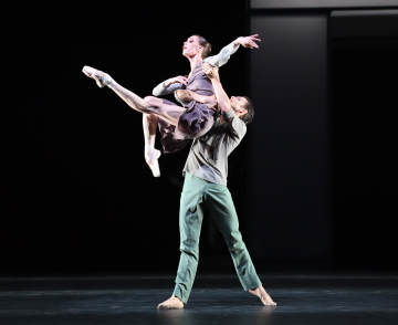 Anna Osadcenko and David Moore in Taiyō to TsukiPhoto Stuttgart Ballet