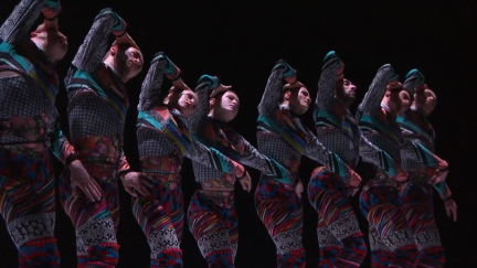 National Dance Company Wales in Tundra by Marcos MoreauScreenshot from film