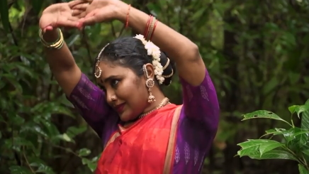 Sreelakshmy Govardhanan in SoorpanakhaScreenshot from film