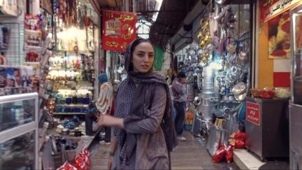 Tanin Torabi in The DérivePhoto Milad Sanaei