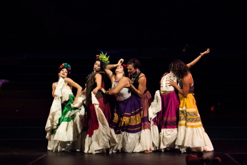 Contra-Tiempo in She Who Frida, Mami & Me Photo Gennia Cui