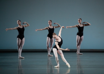 Teresa Reichlen and New York City Ballet in George Balanchine's EpisodesPhoto Erin Baiano