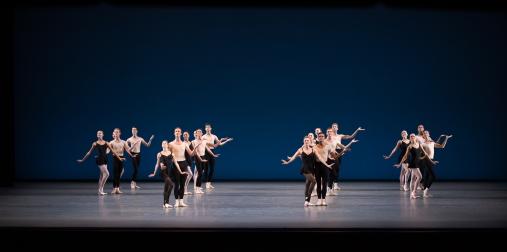 New York City Ballet in George Balanchine's Stravinsky Violin ConcertoPhoto Rosalie O'Connor