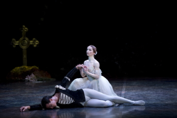 Pippa Moore and Javier Torres in GisellePhoto Bill Cooper