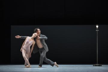Silvia Azzoni and Alexandre Riabko in Ghost LightPhoto Kiran West