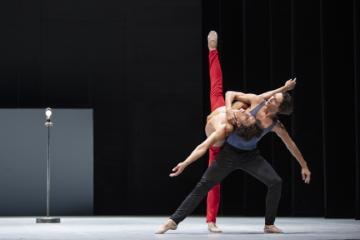 David Rodriguez and Matias Oberlin in Ghost LightPhoto Kiran West