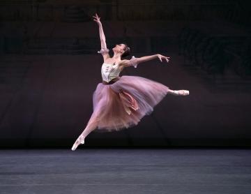 Emily Kikta in George Balanchine's Brahms-Schoenberg QuartetPhoto Erin Baiano