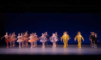 New York City Ballet in Jerome Robbins' Fanfare Photo Erin Baiano