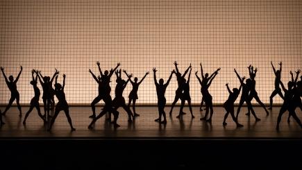 New York City Ballet in Jerome Robbins' Glass PiecesPhoto Erin Baiano