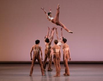 New York City Ballet in Justin Peck's Rodeo: Four Dance EpisodesPhoto Paul Kolnik
