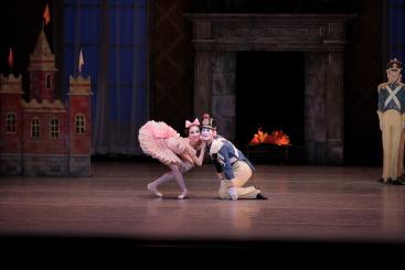 Erica Pereira and Daniel Ulbricht in George Balanchine's The Steadfast Tin SoldierPhoto Paul Kolnik
