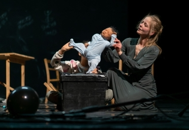 Aurora Lubos (with Tia behind) in In Loco Parentis by Charlotte VincentPhoto Bosie Vincent