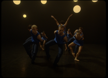 A moment from Take Five Blues by Stina QuagebeurPhoto English National Ballet