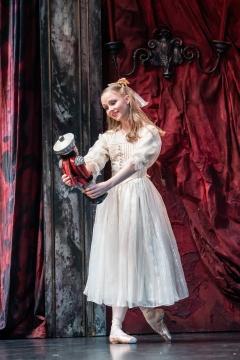 Karla Doorbar as Clarain Birmingham Royal Ballet's The Nutcracker at The REP,/i>Photo Johan Persson