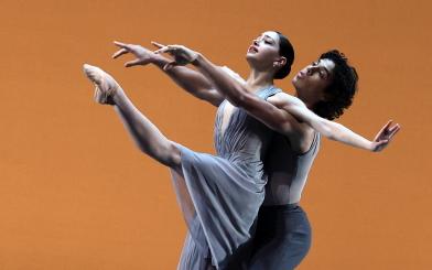 Salome Leverashvili and Timothy van Poucke in Echoes of Tomorrow by Wubkje KuindersmaPhoto Hans Gerritsen