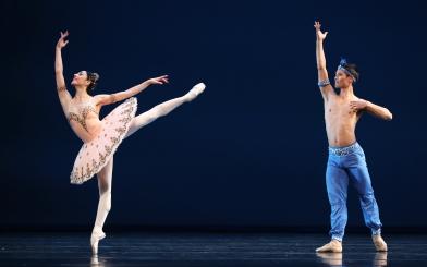 Maia Makhateli and Young Gyu Choi in Le Corsaire pas de deuxPhoto Hans Gerritsen