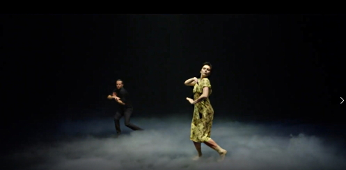 Jason Kittelberger and Natalia Osipova in Once Withscreenshot from film