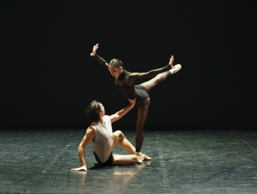 Lorenzo Trossello and Minju Kang of Northern Balletin States of Mind by Kenneth TindallPhoto Emma Kauldhar