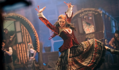 Grace Horler as Mazelda in The Secret TheatrePhoto Mihaela Bodlovic