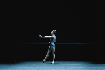Tiler Peck in Buzzard and Kestrel by William ForsytheScreenshot from film