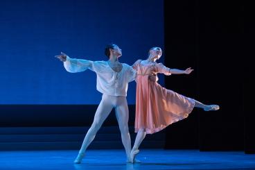 Ruslan Savdenov and Aleksandra Surodeeva in Romeo and JulietPhoto David Herrero