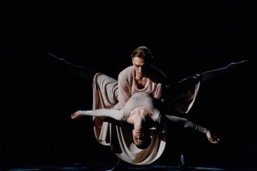 Olga Lerman as Anna and Dmitry Solomykin as Vronsky in Anna KareninaPhoto Dmitry Dubinsky
