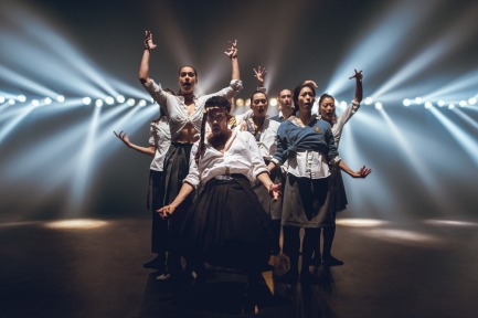 Imre and Marne van Opstal, and Hofesh Shechter: Shadow's Whispers by Nederlands Dans Theater