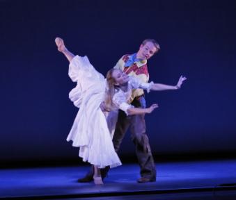 New York Theatre Ballet in Agnes de Mille's Oklahoma!Photo Richard Termine