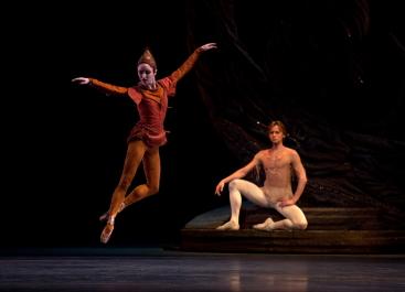 Skylar Brandt and Daniel Simkinin Tudor's Shadowplay for American Ballet TheatrePhoto Rosalie O'Connor