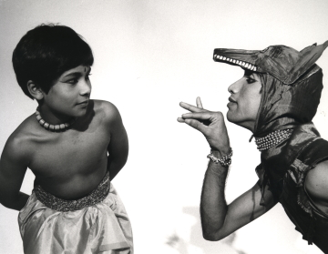 Young Akram Khan in Akademi's The Adventures of Mowgli in 1984Photo Alan Dilly, Akademi archives