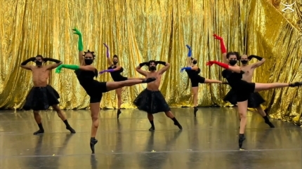 Dance Theatre of Harlem in Anthony Santos' AlgidoStill from streaming