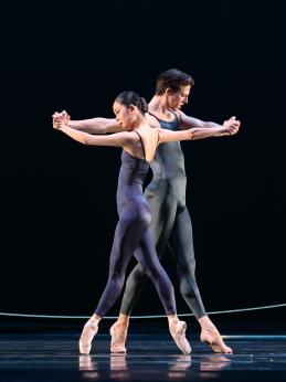 Jessica Xuan and Martin ten Kortenaar in Variations for two couplesPhoto Hans Gerritsen