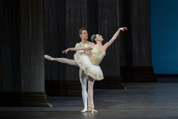 Tiler Peck and Andrew Veyette in George Balanchine's Theme and VariationsPhoto Paul Kolnik