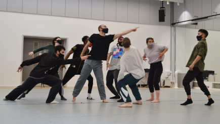 Rosie Kay Dance Company rehearse her forthcoming Romeo and Juliet, set to premiere in SeptemberPhoto Priya Appleby