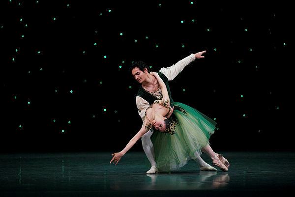 Misa Kuranaga and Angelo Greco in Balanchine's EmeraldsPhoto Erik Tomasson