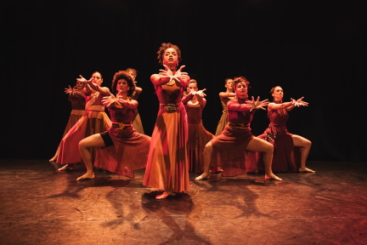 BOP Jazz Theatre in 'I. You. We. Rise' from Through the Eyes of WomanPhoto Bafana Matea Soloman
