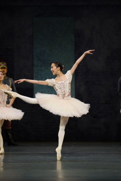 Yui Yonezawa as Swanilda in Roland Petit's CoppéliaPhoto courtesy New National Theatre/National Ballet of Japan